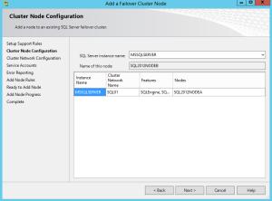 Add SQL Node1