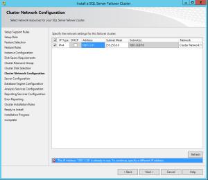 SQL Cluster1