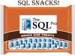 [SQL Snacks Video] Introducing SQL Snacks! A healthy alternative to boring learning!