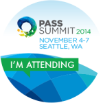 PASS Summit 2014 – It's not you, it's me